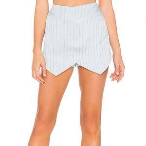 Majorelle envelope skirt